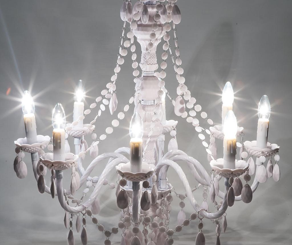 Luster Jewel Eight White