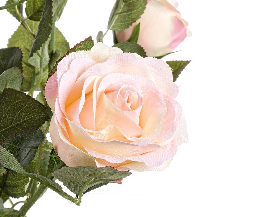 Isabel Pale Pink Rose Művirág virágcserépben