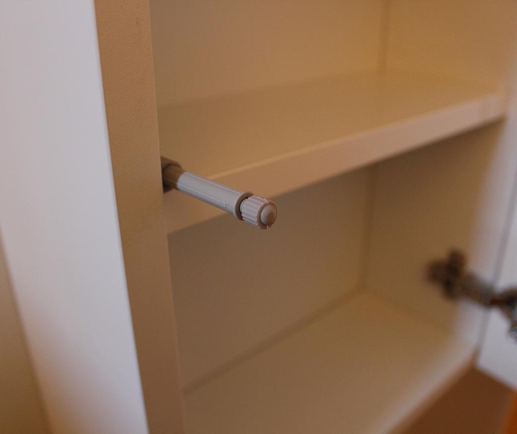 Sada nábytku do kúpeľne 7 ks Ibiza Trio White and Light Tobacco