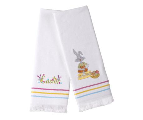 Set 2 prosoape de bucatarie Easter Bunny 50x76 cm