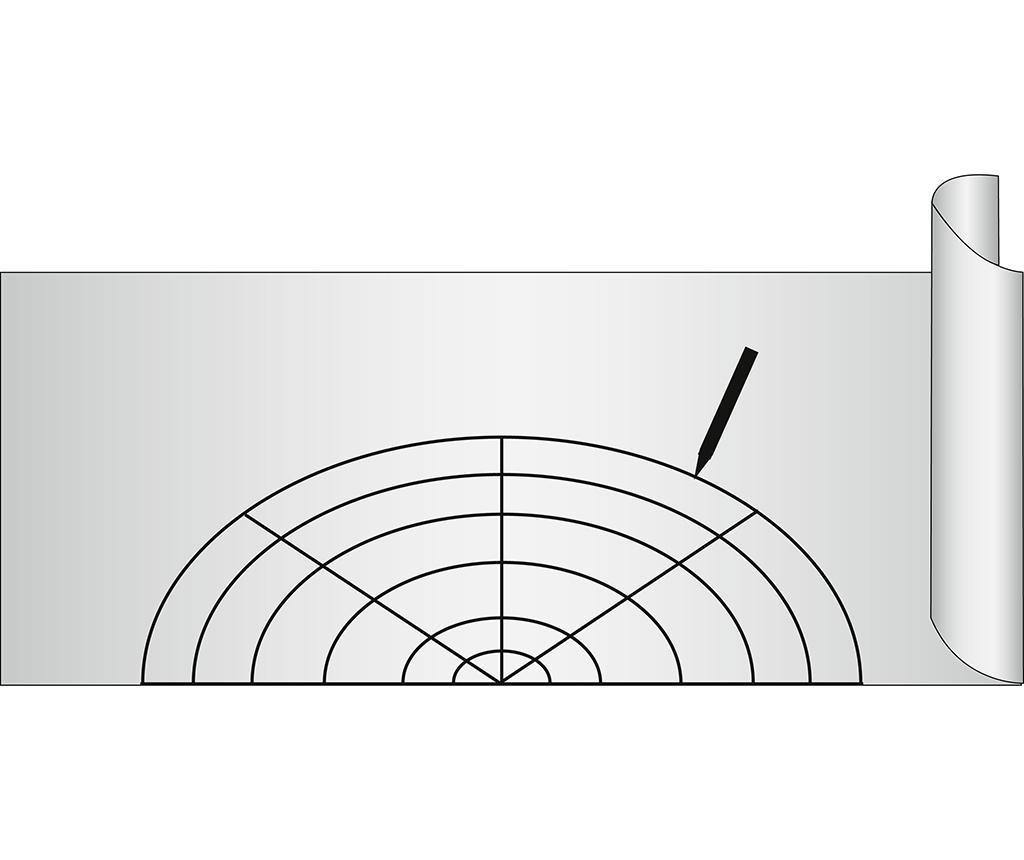 Folija proti drsenju Slip Stop Grey 50x150 cm