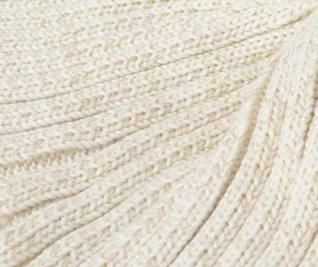 Mermaid Cream Pléd 33x105 cm