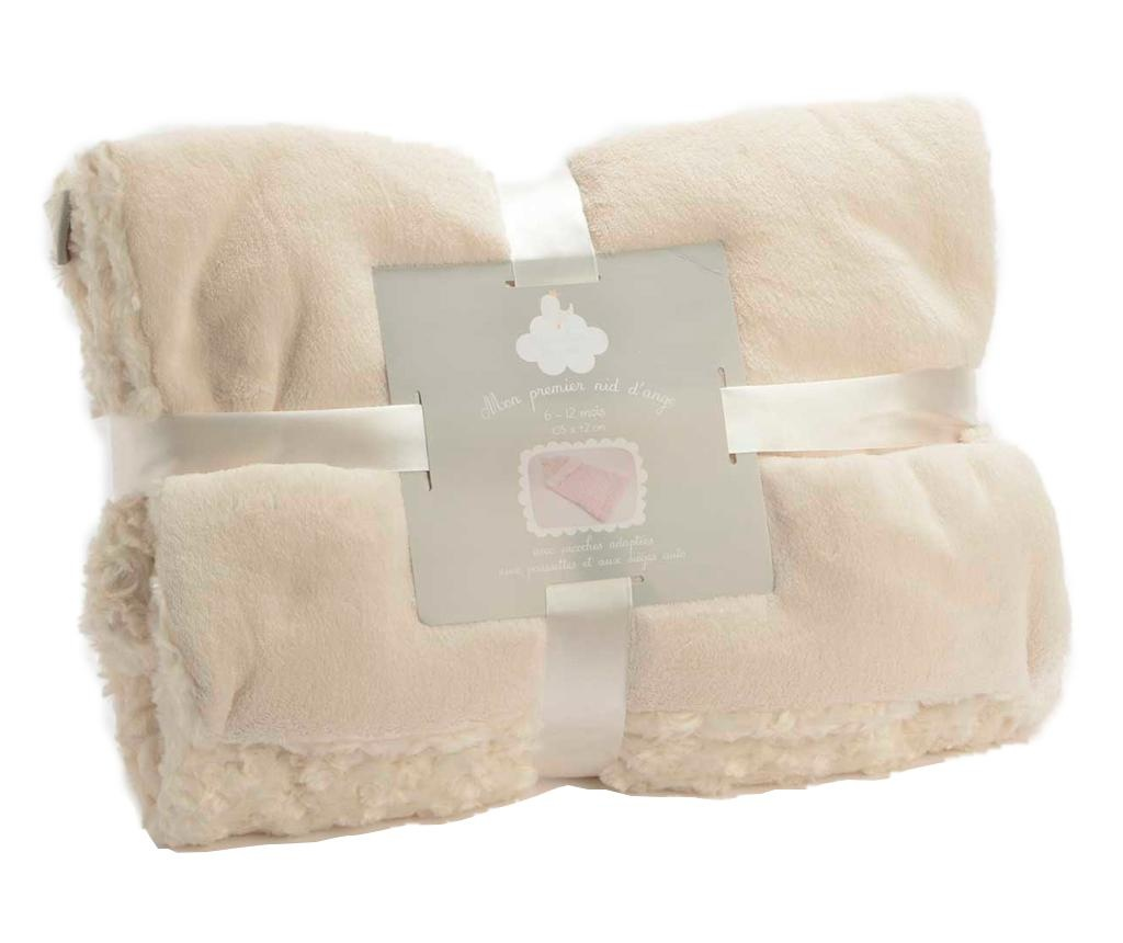 Sac de dormit Little Roses Cream 6-12 luni
