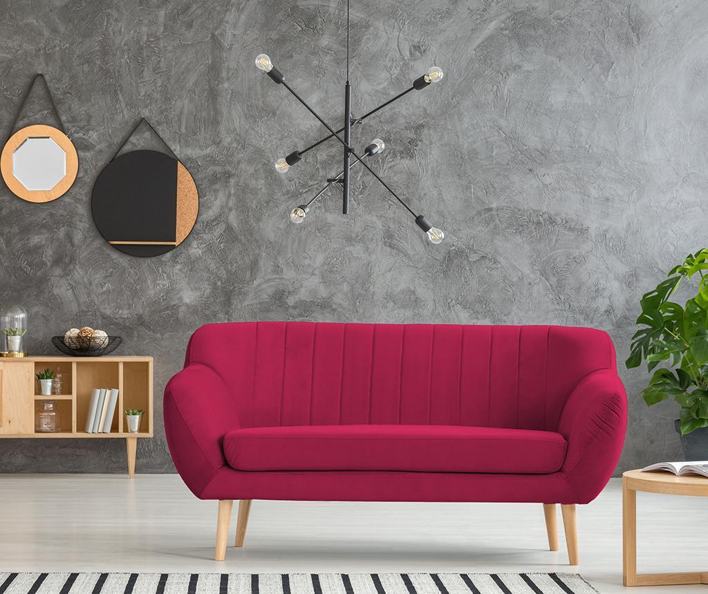 Canapea 2 locuri Sardaigne Pink