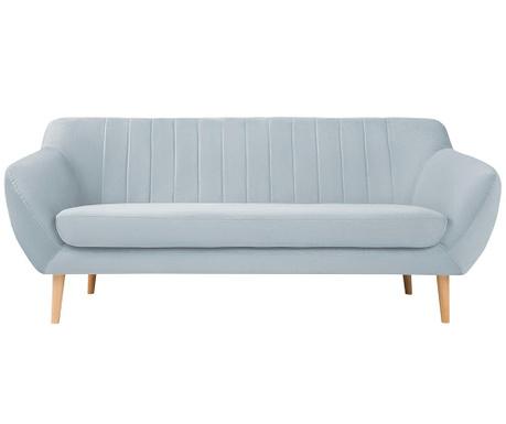 Canapea 3 locuri Sardaigne Pastel Blue