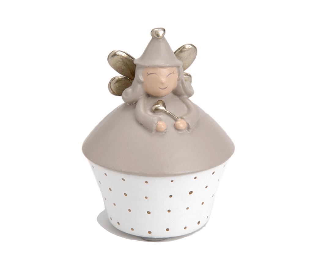 Kutija za zubiće s poklopcem Fairy Grey