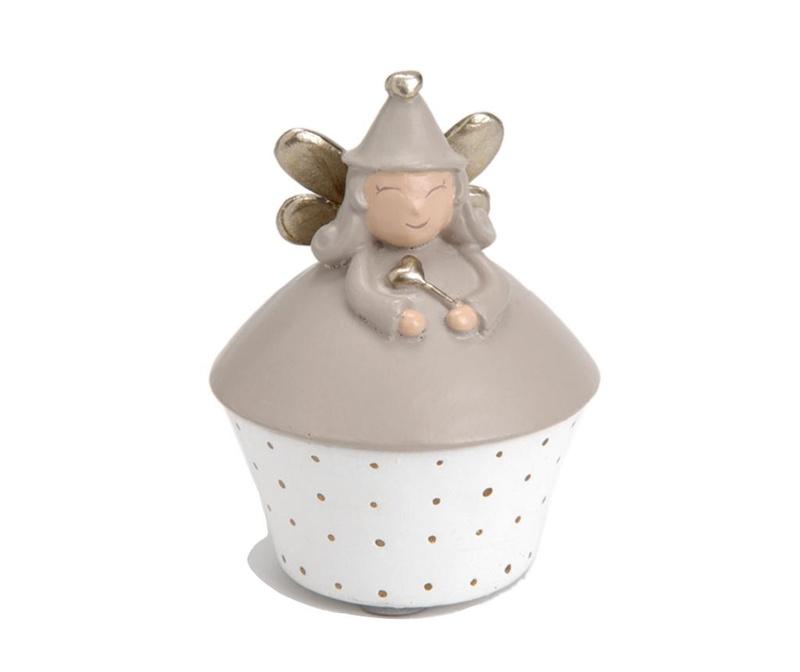 Cutie cu capac pentru dintisori Fairy Grey