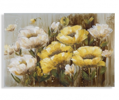 Slika Yellow Flower 80x120 cm