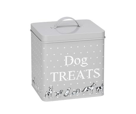 Recipient cu capac pentru hrana caini Dog Treats