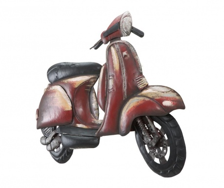 Decoratiune de perete Red Scooter