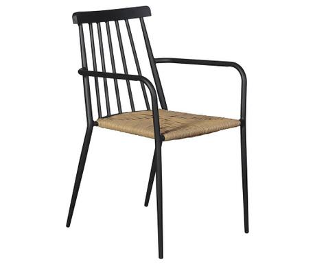 Vrtni stol Maros Black