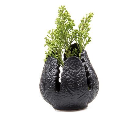 Vaza Leaf Black