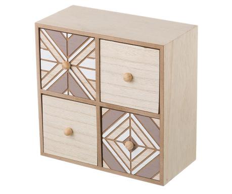 Krabice se 4 zásuvkami Favin Square