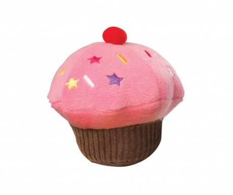 Jucarie pentru animale de companie Cupcake Pink