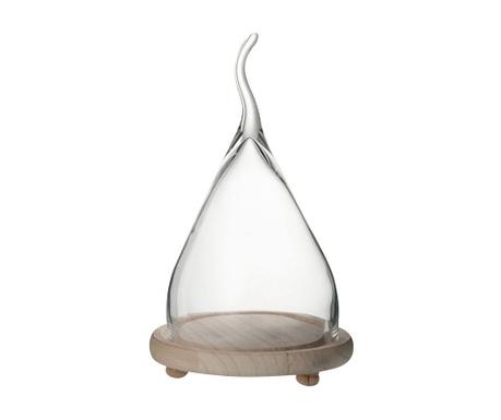 Стъклен глобус с поставка Elf