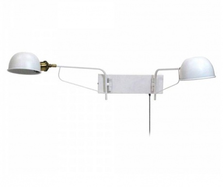 Zidna svjetiljka Hamlet Double White
