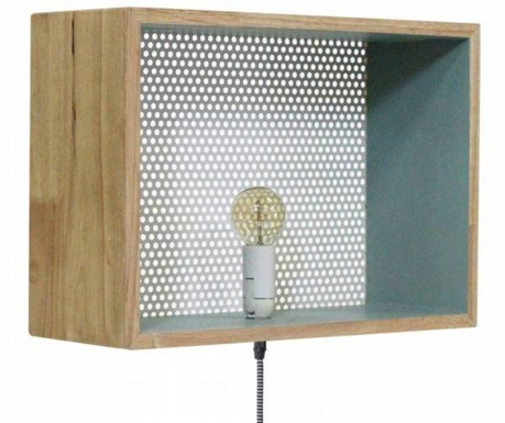Zidna svjetiljka Logan Blue Mat