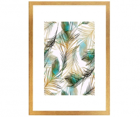 Картина Fancy Feathers 24x29 см