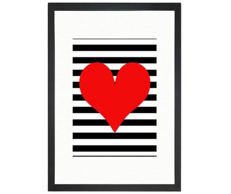 Картина Hearts 24x29 см