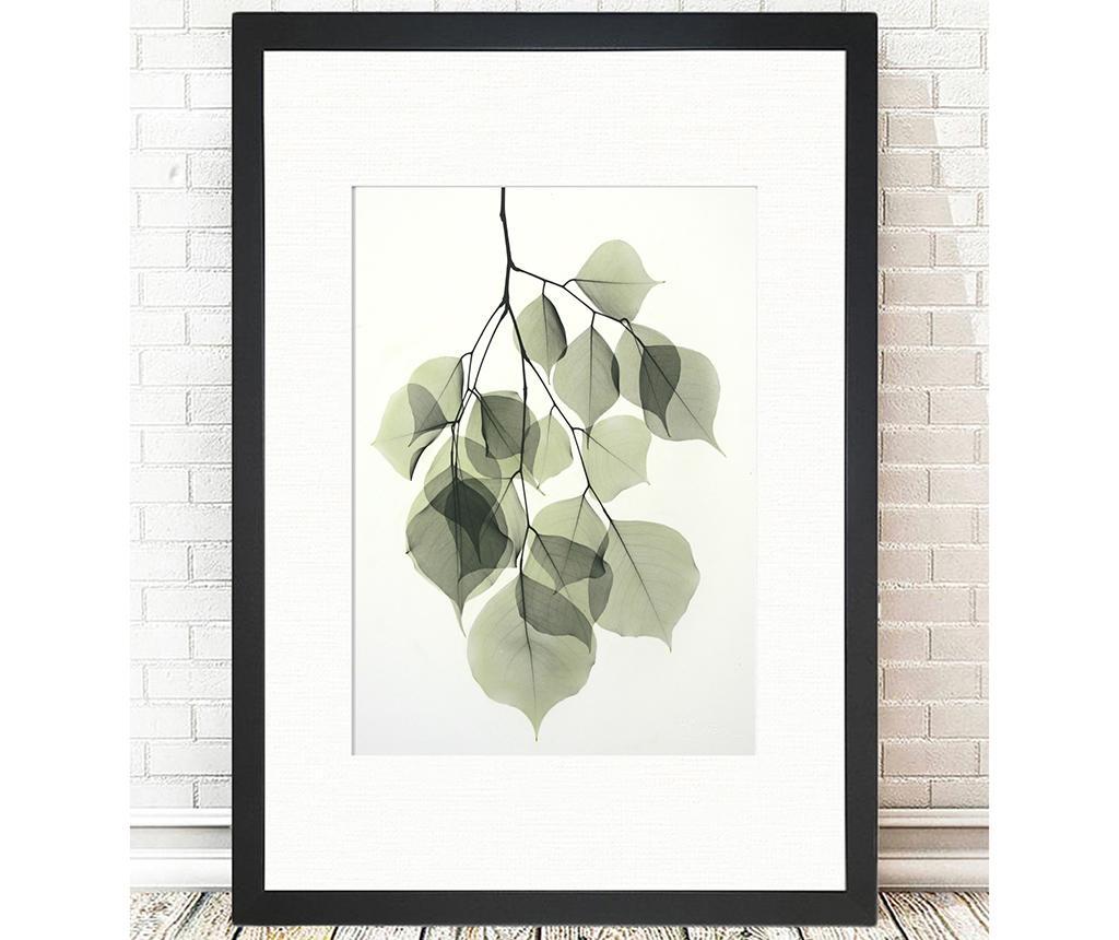 Tablou Tender Leaves 24x29 cm
