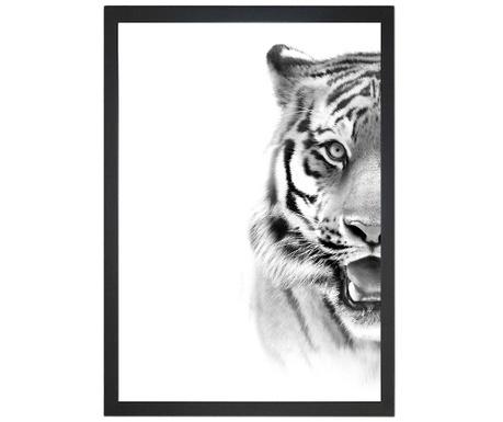 Obraz Tiger Face 24x29 cm