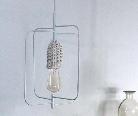 Závěsná lampa Voltige White