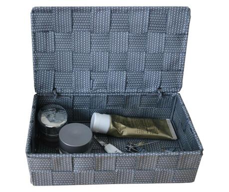 Škatla s pokrovom Grey Spotted