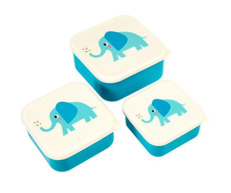 Set 3 caserole Elvis the Elephant
