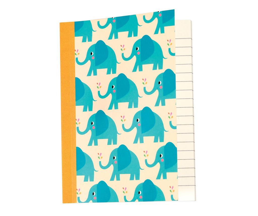 Caiet A6 Elvis the Elephant