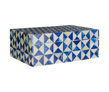 Кутия с капак Trinket Blue M