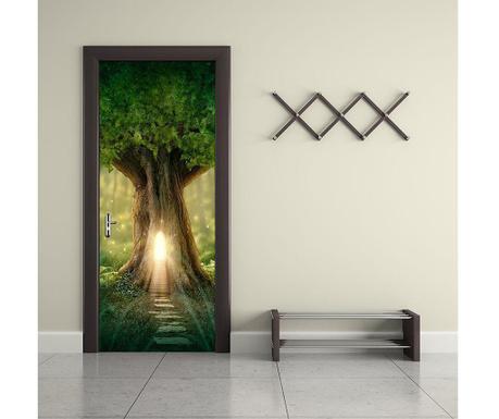 Naklejka na drzwi Fantasy Tree