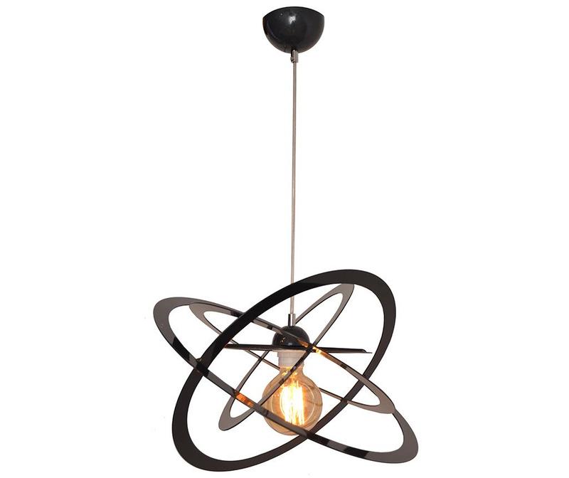 Závěsná lampa Eagle Black