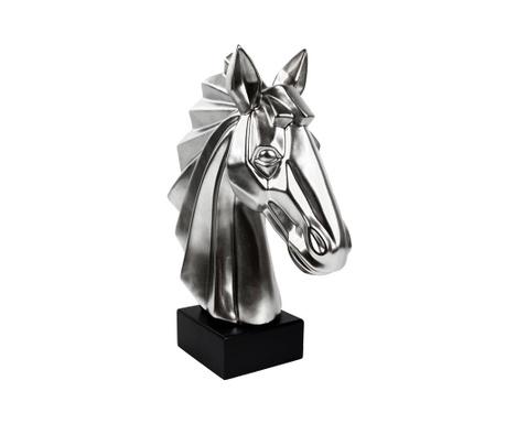 Ukras Existence Horse Head Matt Silver