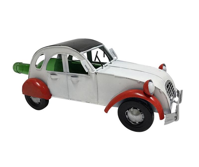 Suport pentru sticla Premium Vintage Car White Red