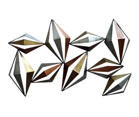 Zidni ukras Beaux Arts 3D Lozenges