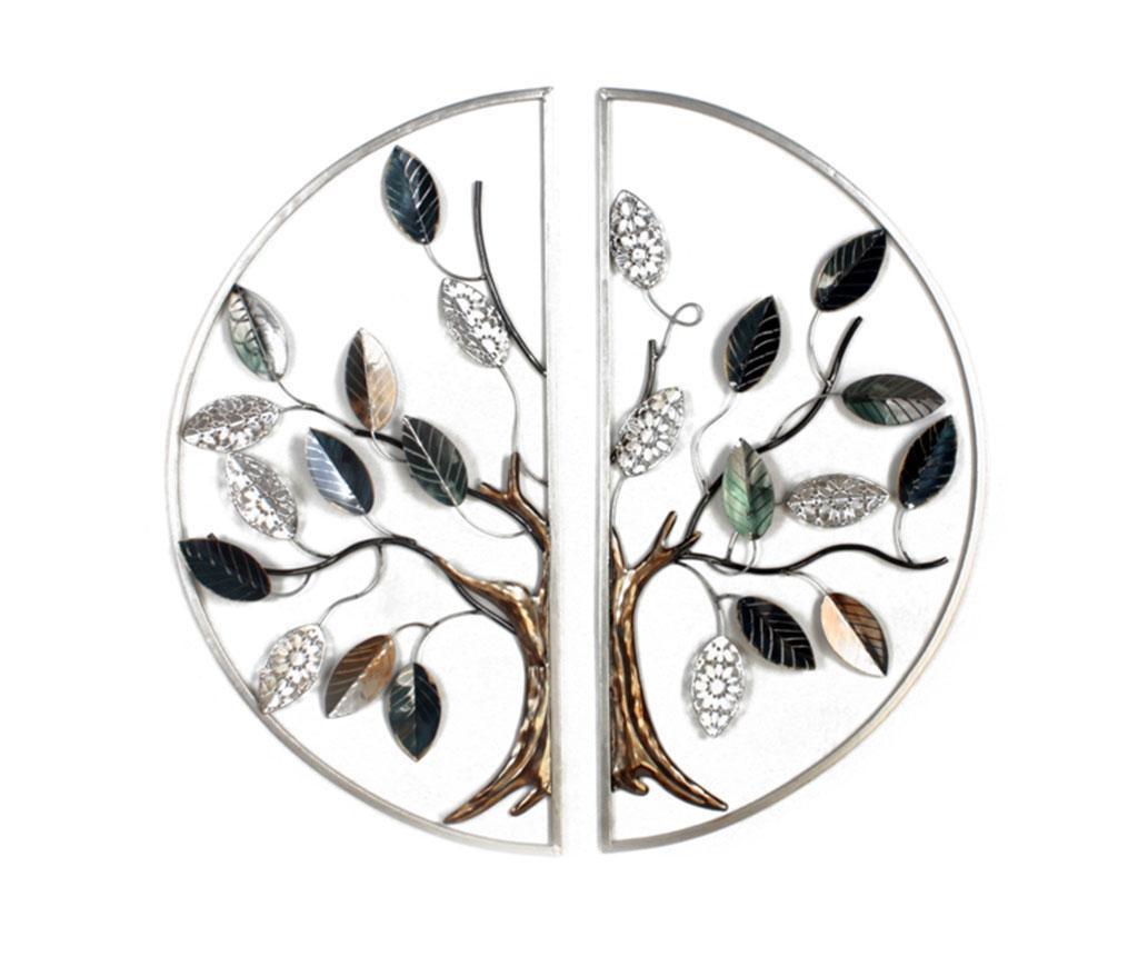 Zidni ukras Beaux Arts Tree in Circle