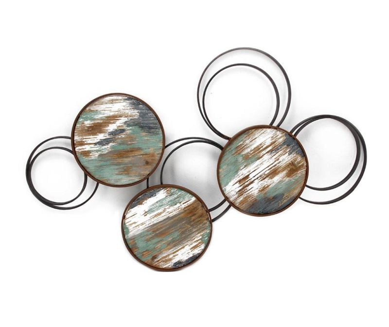 Zidni ukras Beaux Arts Metallic Circles