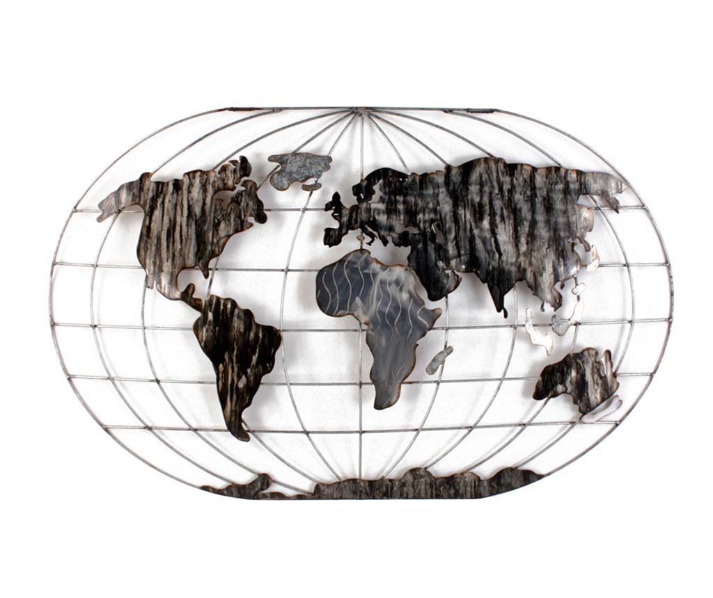 Zidni ukras Beaux Arts World Map