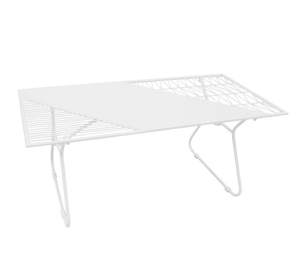 Stolić za kavu za vanjski prostor Art de Fer White
