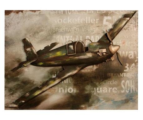 Zidni ukras Gallery Vintage Plane