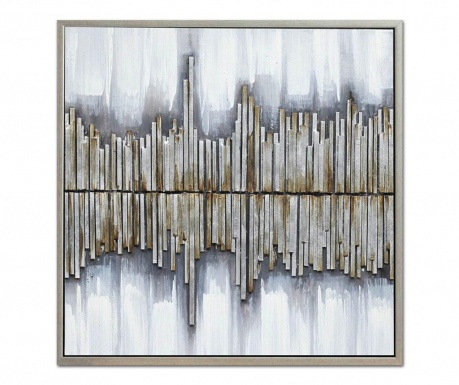 Obraz Gallery Vertical Stripes 60x60 cm
