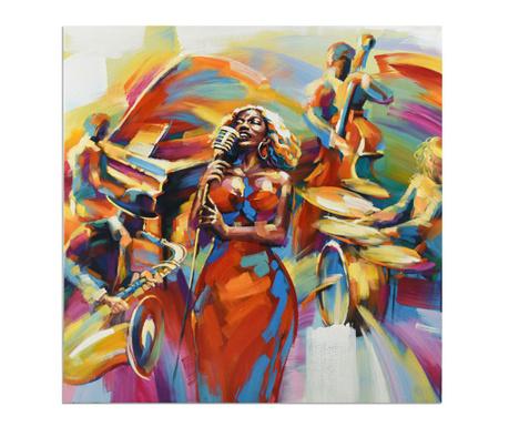 Slika Gallery Orchestra Singing 100x100 cm