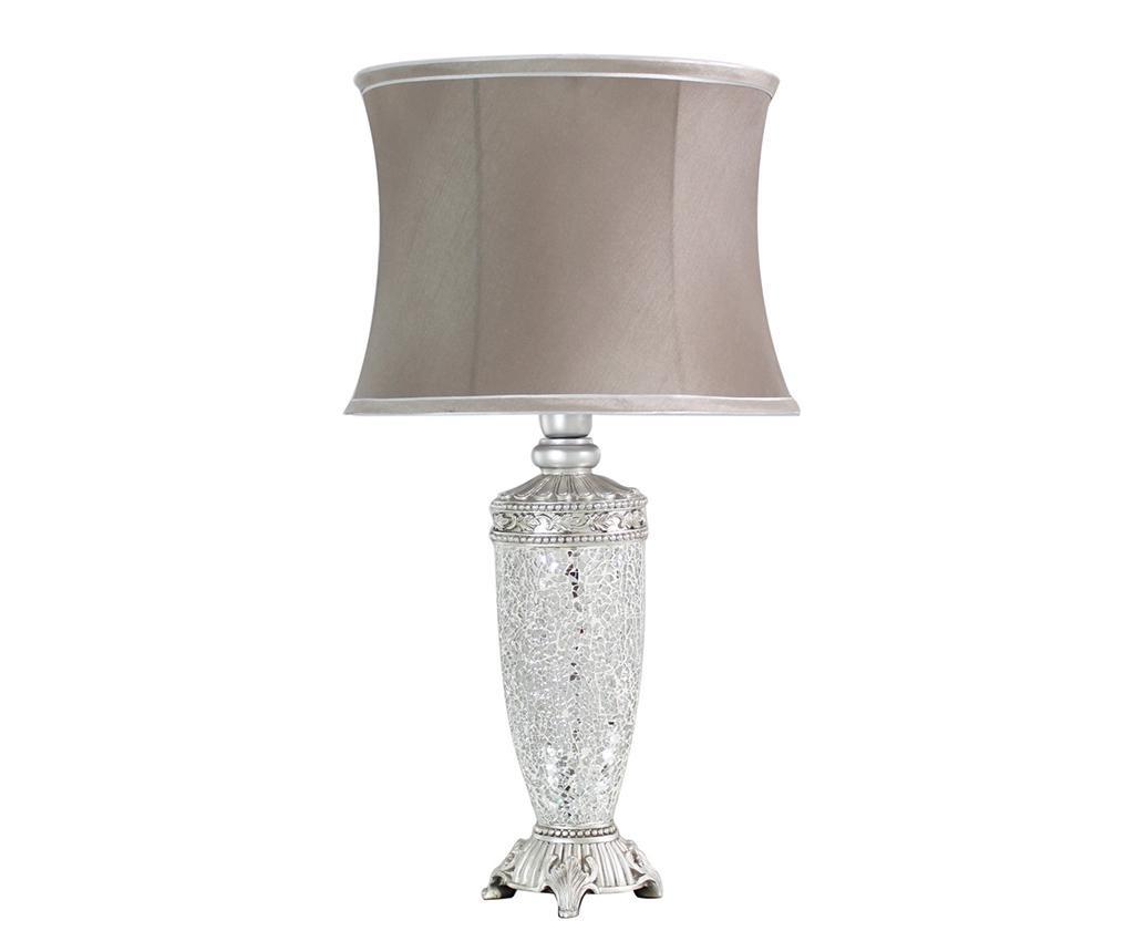 Sparkle Taupe Trimmed Lámpa