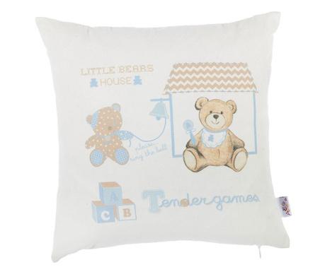 Fata de perna Little Bears House 35x35 cm