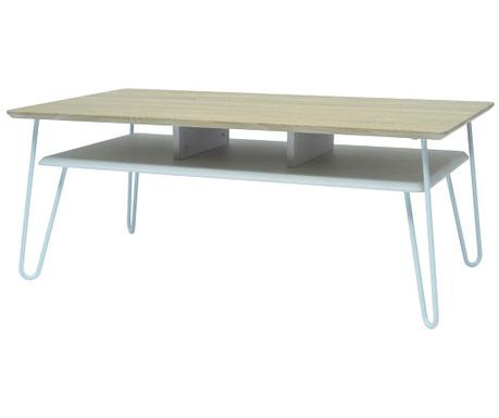 Konferenční stolek Upsidown White