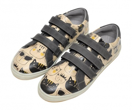 Γυναικεία παπούτσια Monochrome Cats Velcro