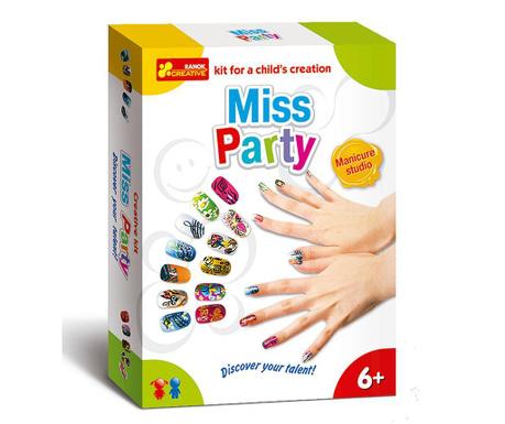 Kreatívna sada manikúra Miss Party