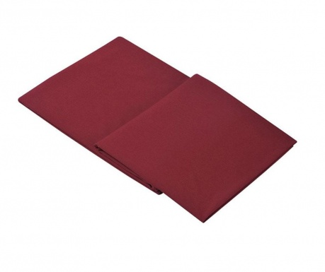 Loryn Red Wine Percale Lepedő 270x310 cm