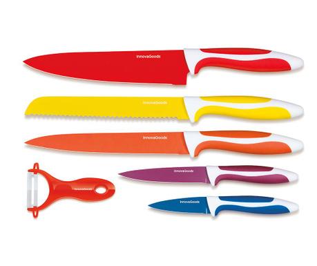 Set 5 nožev in lupilca zelenjave Alissa