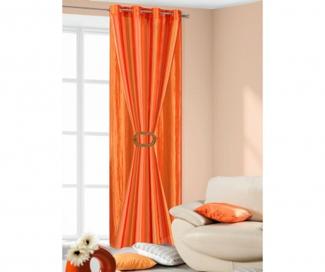 Draperie Rudy Orange Red 140x250 cm